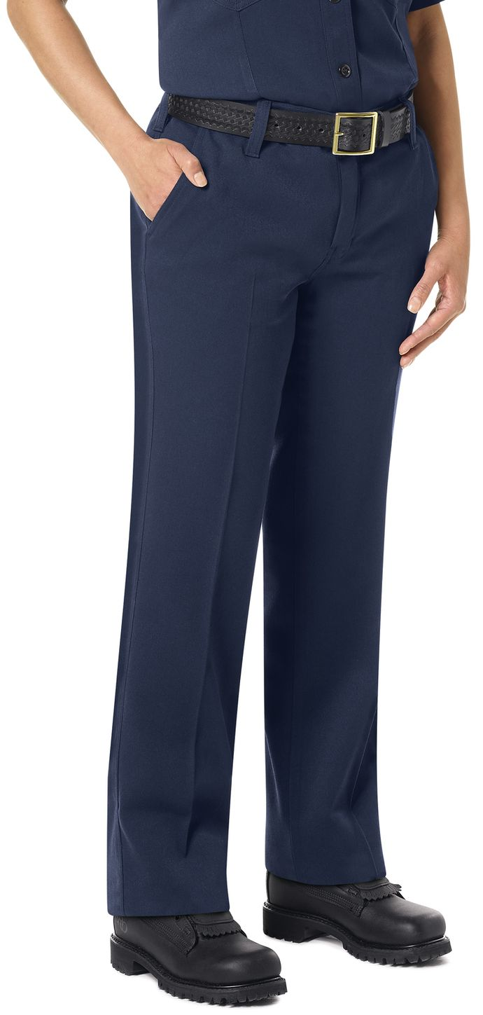 Workrite FR Women's Pants FP45, Station No. 73 Uniform Navy Example Right