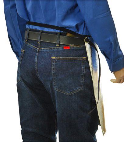 Otterlayer aluminized apron waist back detail AW1-ACF