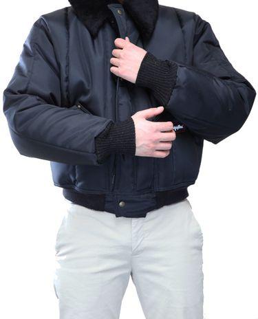 RefrigiWear 0356 Iron-Tuff Tanker Insulated Work Jacket - Knit Cuffs
