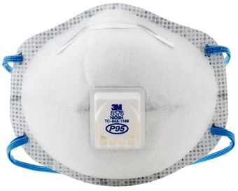 3M Disposable Respirator 8576 - P95 Front