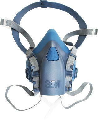 3M 7500 Respirator Mask Detailed View