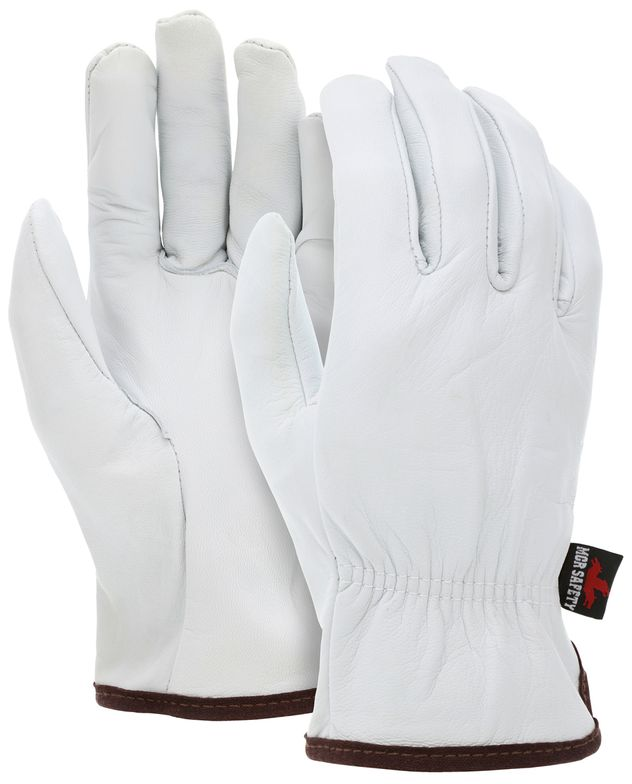 MCR Safety Premium Goatskin Driver Leather Gloves 3601