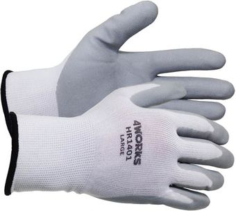 4Works HR1401 Nitrile Foam Coated Gloves