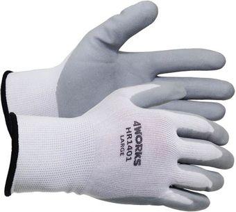 4Works HR1401 Nitrile Foam Coated Gloves
