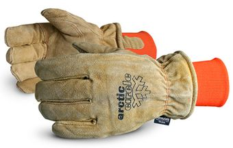 Superior 678AFTLK Arctic Circle Leather Heavy Freezer Gloves