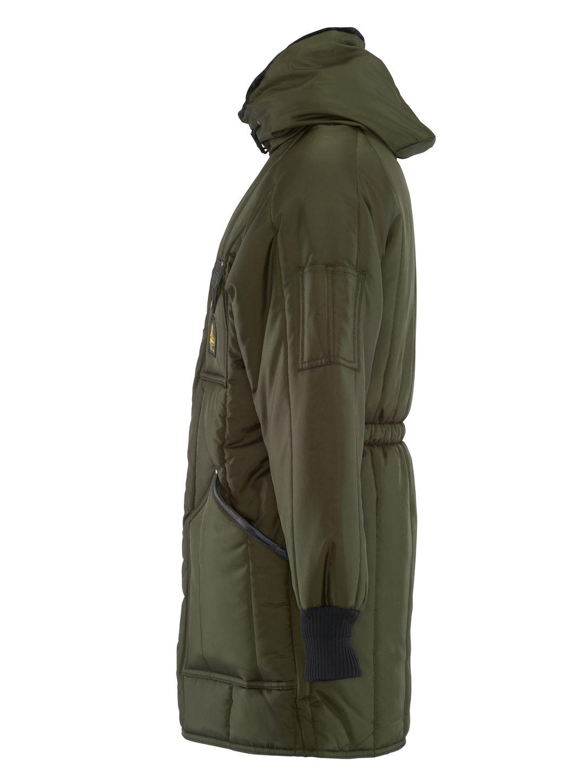refrigiwear-0360-iron-tuff-winter-work-parka -thigh-length-sage-left-side.jpg