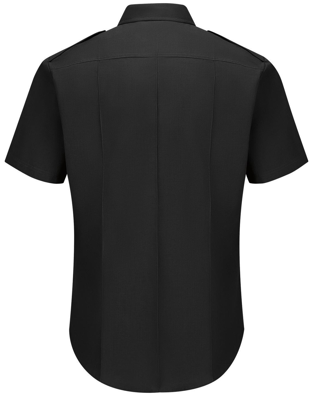 Workrite FR Fire Chief Shirt FSC2 Classic Short Sleeve Black Back