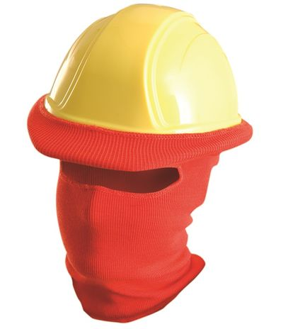 Occunomix Classic Hard Hat Tube Liner LK810 (Full Face) Red