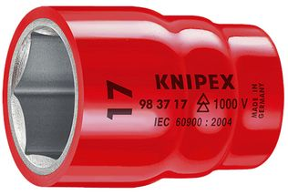 "Knipex Tools Metric Insulated Hexagon Sockets For 3/8"" Driver"