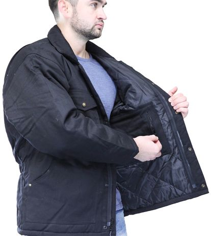 RefrigiWear ComfortGuard Utility Work Jacket 0630 - Interior Zip Pocket