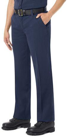 Workrite FR Women's Pants FP45, Station No. 73 Uniform Navy Example Left