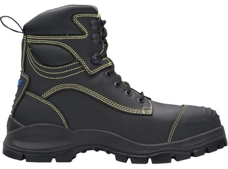 """Blundstone 994 XFOOT Rubber Lace-Up Steel Toe Boots - 6"""", Metatarsal Protection, Puncture Resistant Insole, Water Resistant Side"""