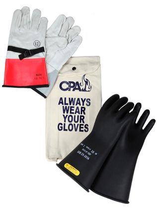Chicago Protective Apparel Electrician's Class 2 Glove Kit GK-2-14