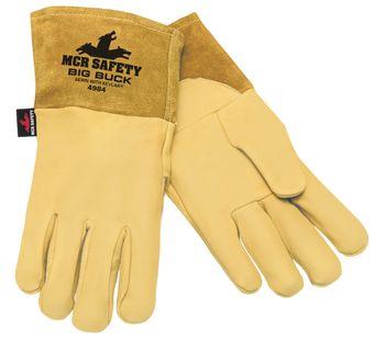 MCR Safety Big Buck MIG/TIG Deerskin Welding Gloves 4984