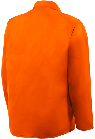 """Steiner Weldlite Flame Retardant Jacket Cotton 30"""" 1040 Back"""