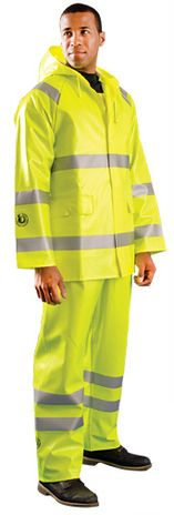 Occunomix LUX-TJR/FR Arc Flash Waterproof Rain Jacket