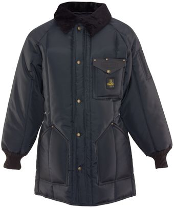 RefrigiWea 0361 Iron-Tuff Winterseal Cold Weather Work Coat Thigh Length Front