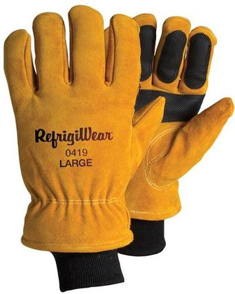 RefrigiWear Cold Weather Apparel - Double Insulated Cowhide Glove 0419