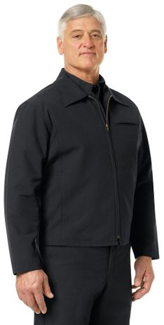 Workrite FR Firefighter Jacket FW20 Black Example Right