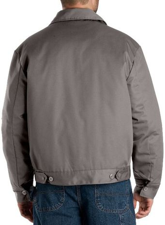 Dickies Men's Outerwear - Lined Eisenhower Jacket TJ15 - Silver