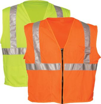 OK-1 Economy Safety Vests S1L - Class 2 Mesh Polyester