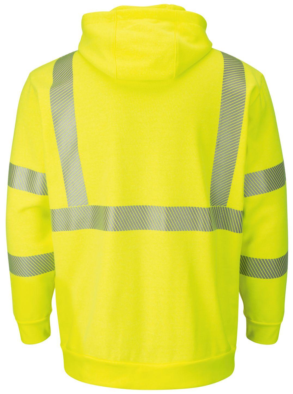 bulwark-fr-hi-visibility-sweatshirt-smh4-fleece-hooded-pullover-yellow-green-back.jpg