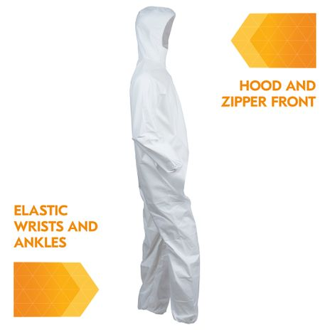 Kimberly Clark Kleenguard Hooded Coverall A40 Liquid & Particle Right