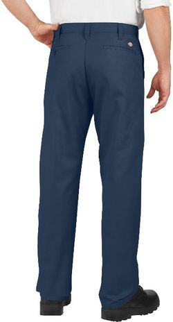 Dickies Men's Pants - Industrial Flat Front Pant LP812 - Navy