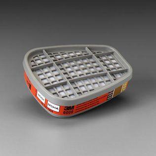 3M 6000 Series Mercury Vapor and Chlorine Gas Cartridges