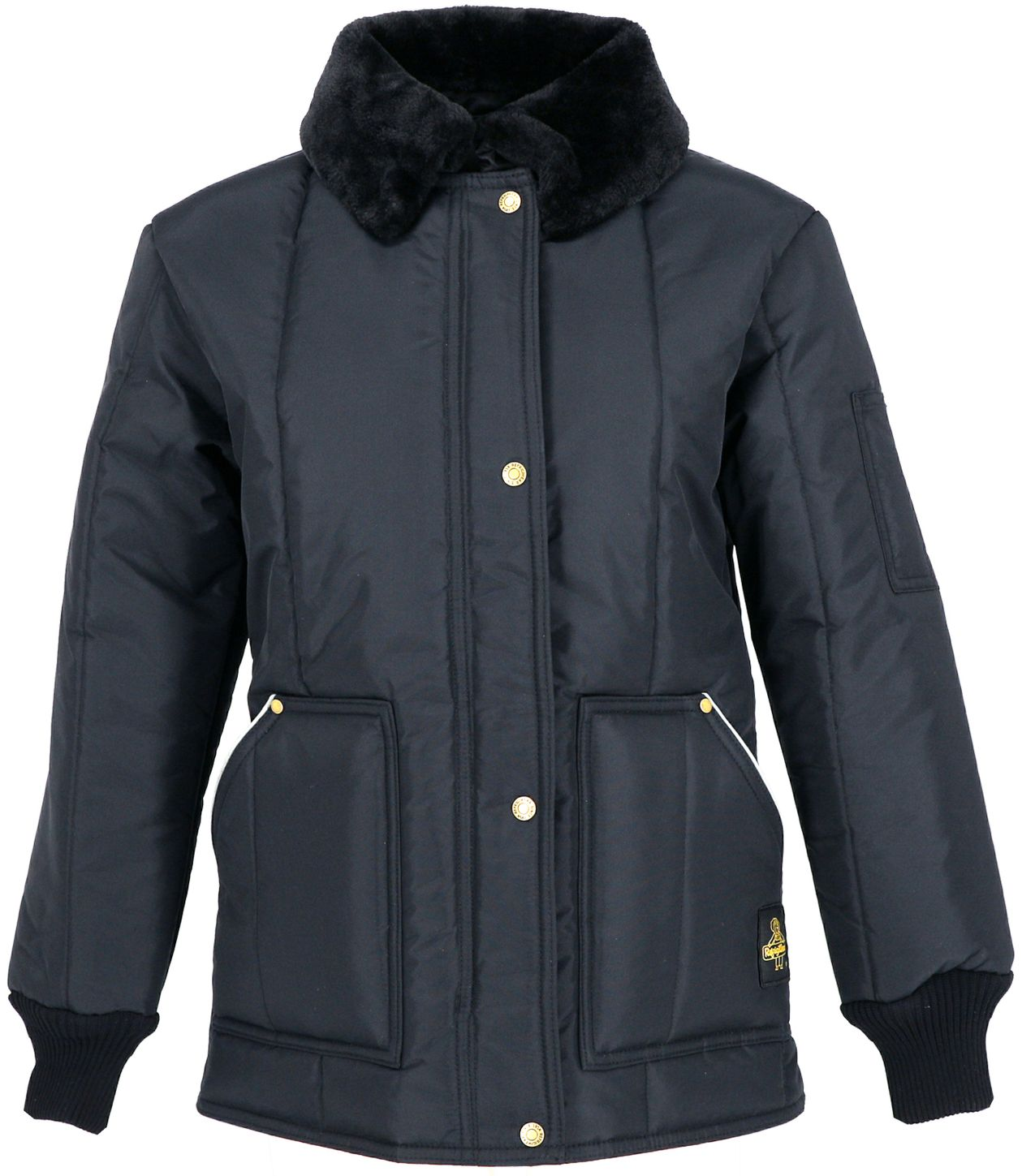 RefrigiWear 0323 Iron-Tuff Womens Cold Weather Work Coat Front