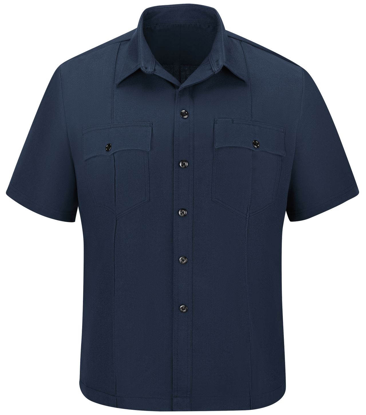 workrite-fr-shirt-fsu2-untucked-uniform-station-no-73-navy-front.jpg