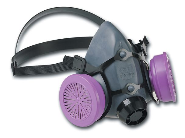 North Safety 5500-Series Respirator Half Mask 550030