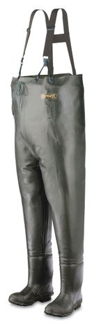 North Safety Ranger Bluecat Insulated Rubber Boot Foot Chest Wader A2070