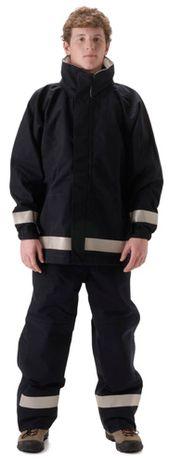 nasco mp3 flash fire resistant arc flash breathable rain suit