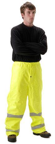 nasco sentinel hi vis flash fire arc rated yellow rain pants