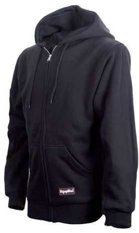 RefrigiWear Cold Weather Apparel - Thermal Sweatshirt 0487 - Black