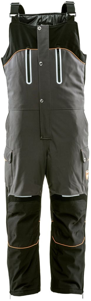 RefrigiWear 7140 PolarForce High Performance Insulated Bib Overalls Front