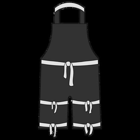 Otterlayer aluminized apron A22-ACF