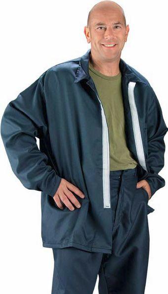 Chicago Protective 600-FR9B Fire Resistant Vinex Jacket
