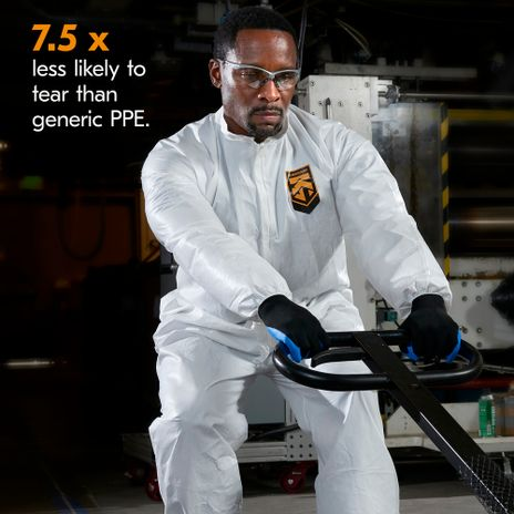 Kimberly Clark Kleenguard A40 Liquid & Particle Coverall Example 2