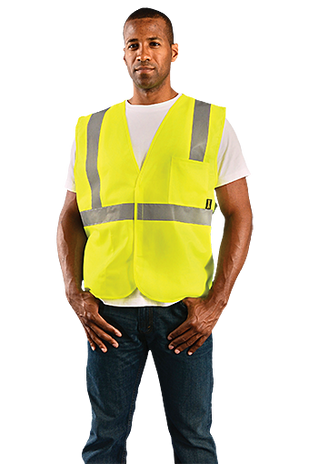 Occunomix Class 2 ECO-IS Solid Standard Vest