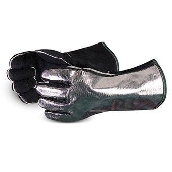 Superior Silverdevil Aluminized Back Welder Gloves 505ALB