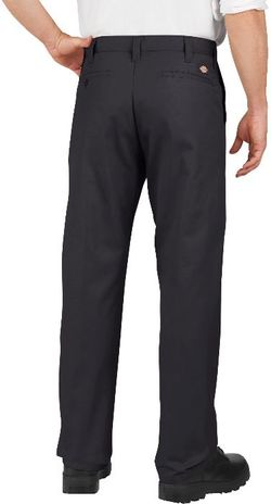 Dickies Men's Pants - Industrial Flat Front Pant LP812 - Black