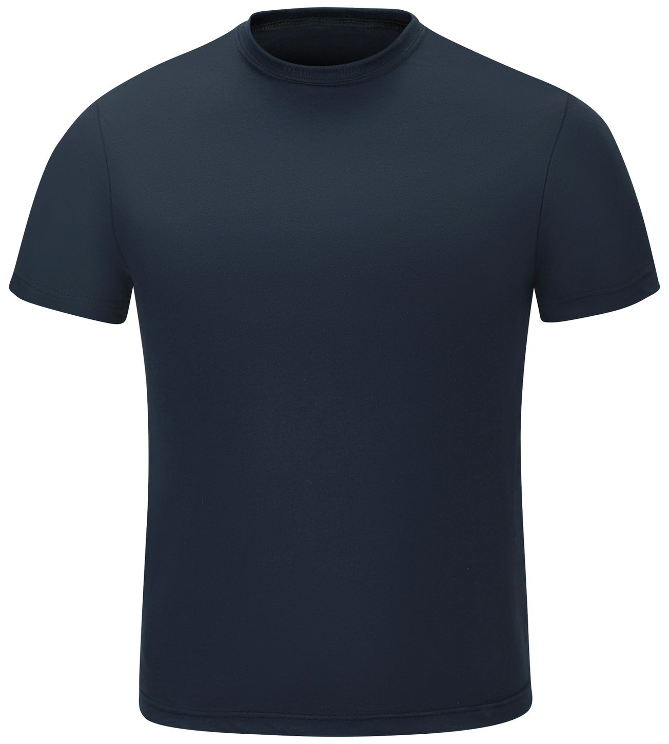 Workrite FR FT34, Station Wear Base Layer Tee Navy Front
