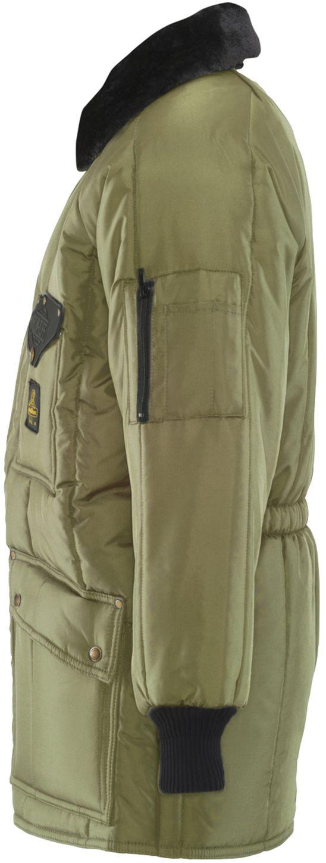 RefrigiWear 0358 Iron-Tuff Siberian Winter Work Coat Sage Left