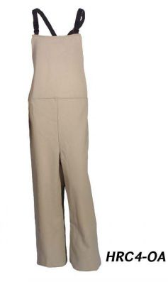 "Cementex HRC4-OA 40 Cal ""HRC Series"" FR Treated Cotton, Arc Rated Pant/Bib, HRC 4"