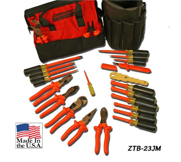 Cementex ZTB-23JM Insulated Tool Kit In Soft Case, 23PC