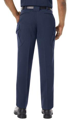 Workrite FR Pants FP44 Navy Example Back