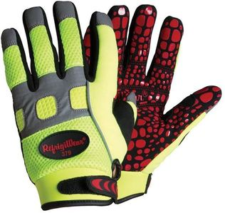 RefrigiWear Cold Weather Apparel - Insulated HiVis™ Super Grip Glove 0379