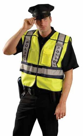 Occunomix LUX-PSP Public Safety Police Hi-Vis Vest